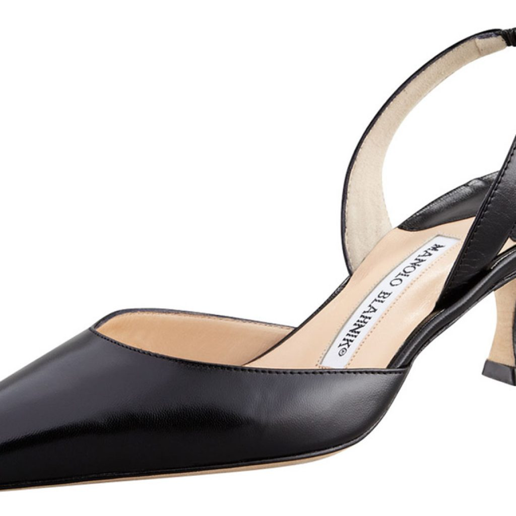 Shoe of the Month: Kidskin Low-Heel Halter - By Dr. Suzanne Levine