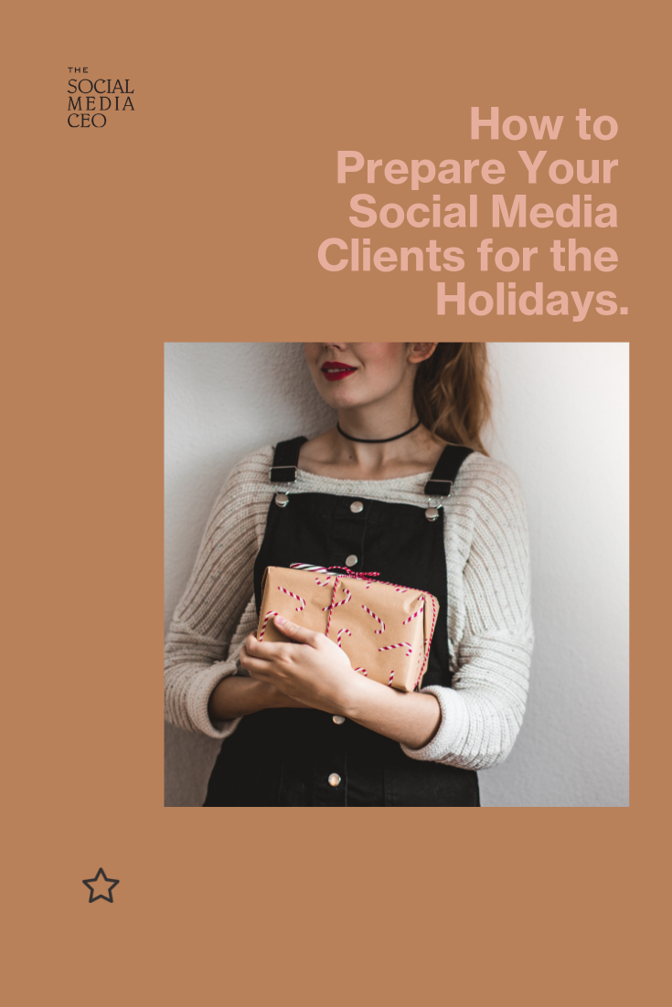 How to prepare social media clients for the holidays