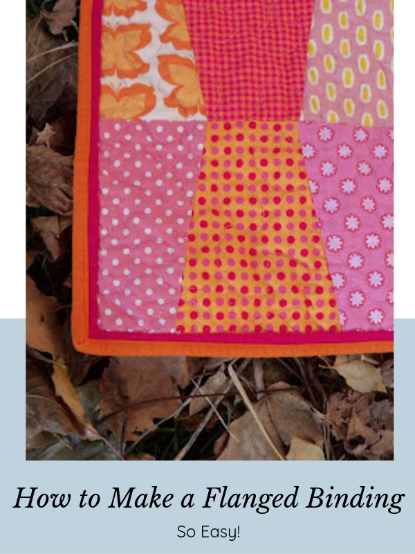 How to Make a Flanged Binding for a Quilt