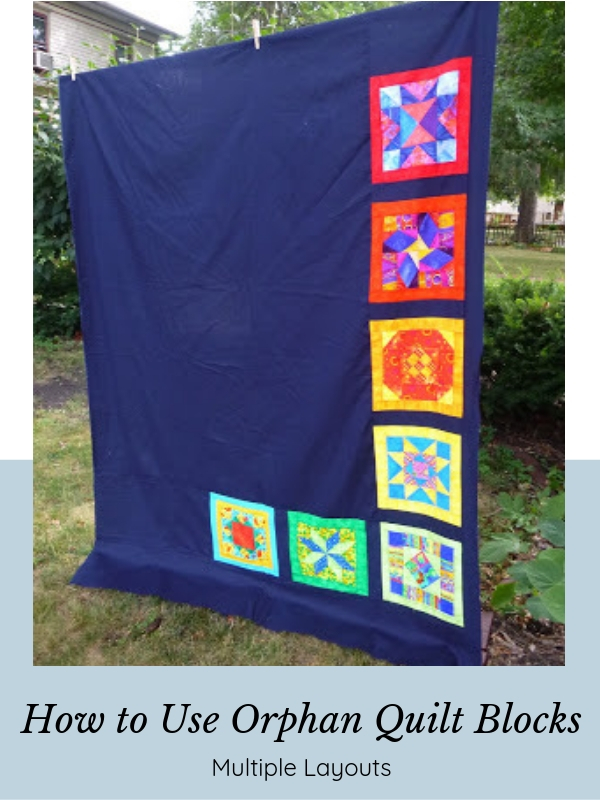 How to use Orphan Quilt Blocks