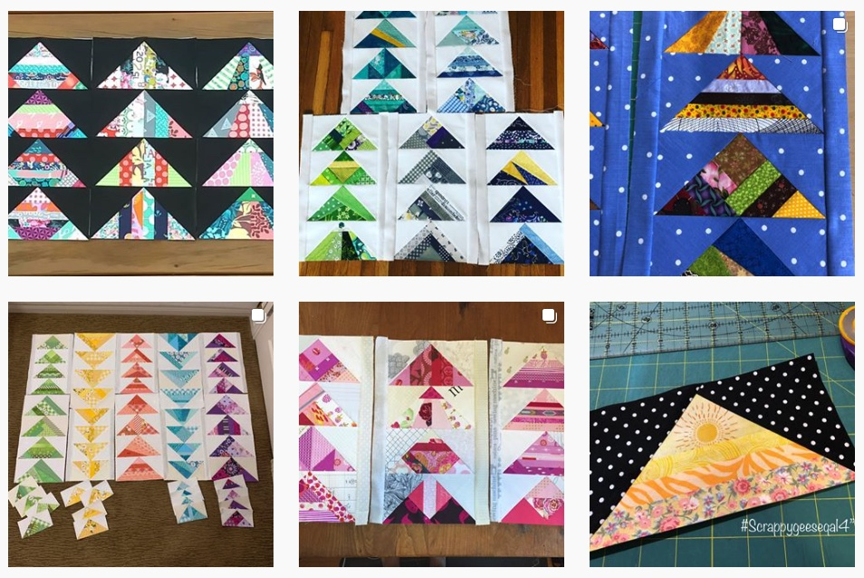 4%22 scrappy flying geese quilt along blocks.jpeg