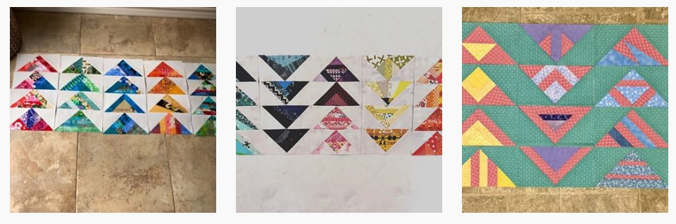 4%22 Scrappy flying Geese quilt blocks.jpeg