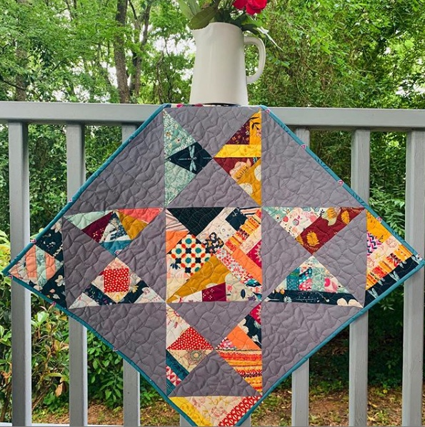 Quilt by  @lovetobhome