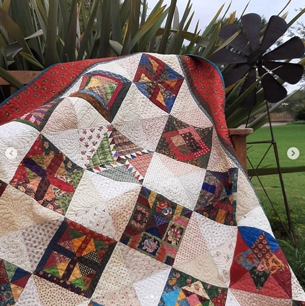Quilt by  @loerlemans