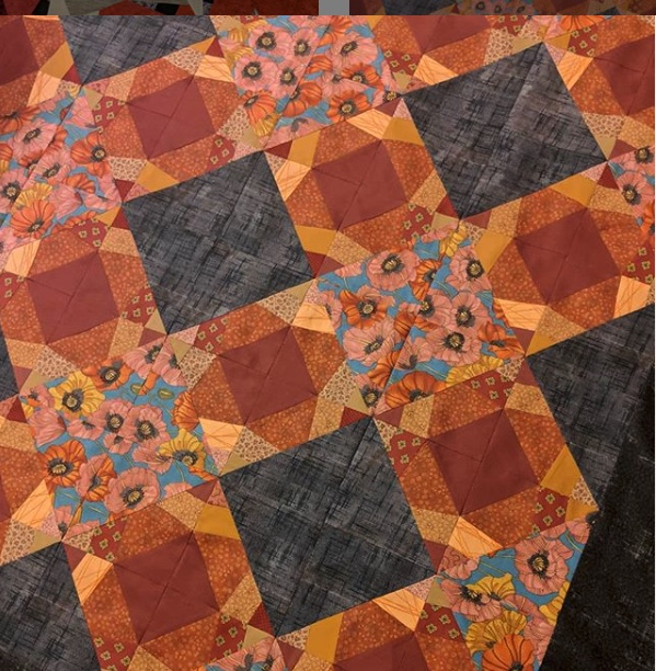 Quilt by  @jafurtaw