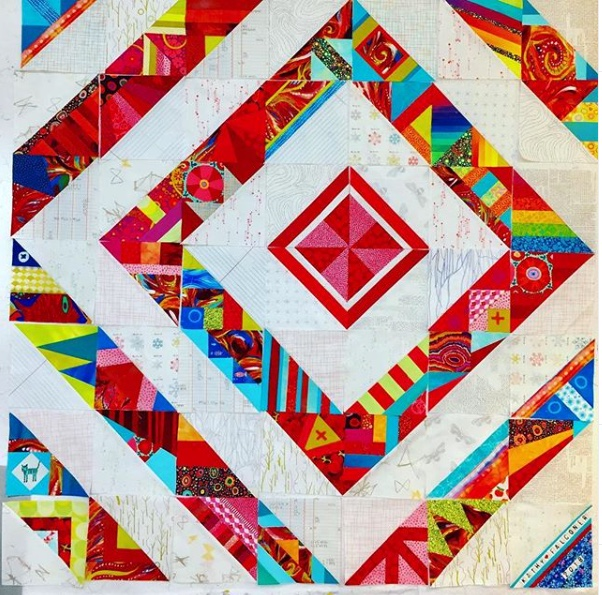 Quilt by  @falconer_kathy