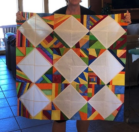Quilt by  @chermcb