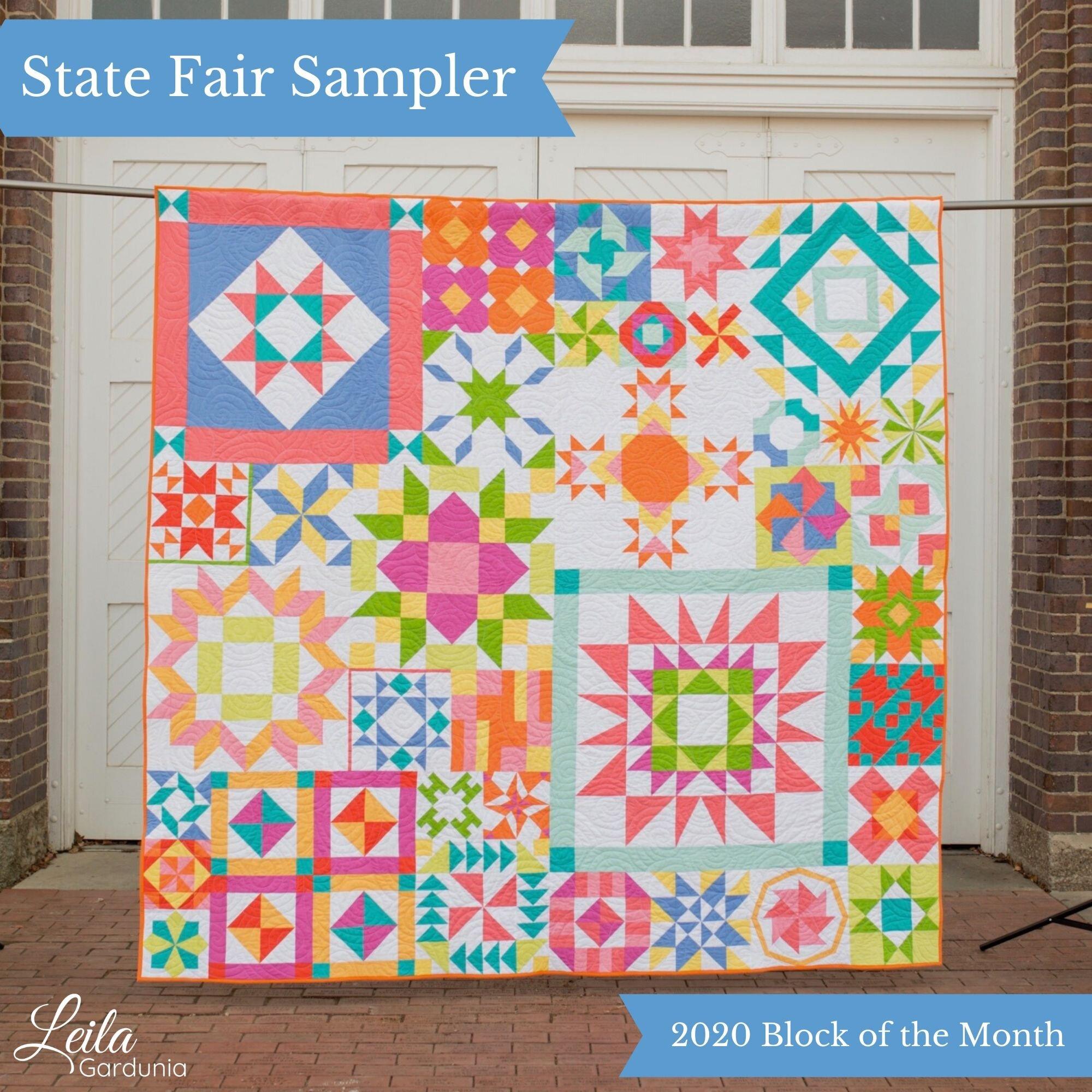 State Fair Sampler 2020 Block of the Month Quilt.jpg