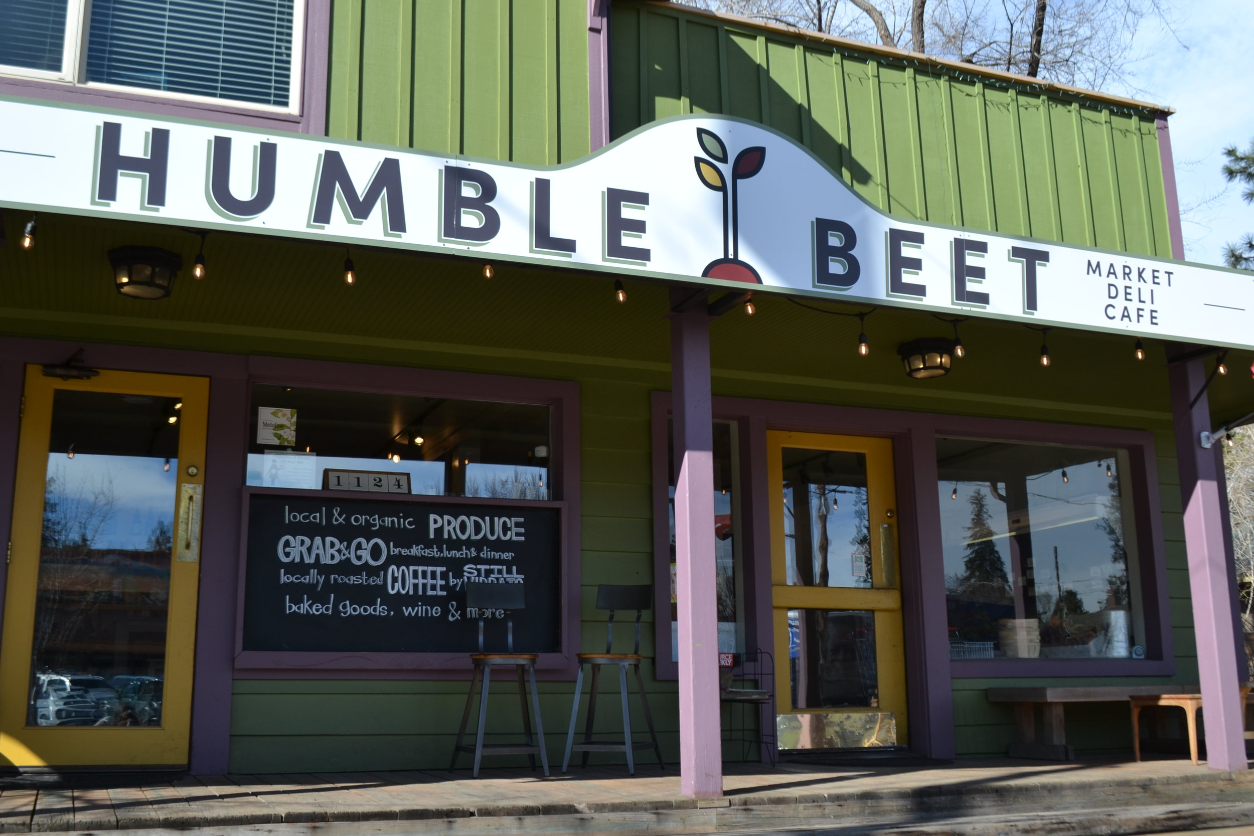 The Humble Beet - Newport Ave., Bend, ORFirst Official BYOC Bend Supporting Business since March 2019BYOC 10 times and the 11th drink is freeThe Humble Beet is the first Official Supporting Businesses. It is one of the most unique coffee shops in Bend because it also acts as a local market and deli for its surrounding community. All drinks are served in a glass cup with a deposit which can be returned, unwashed, with a refund on the deposit. It's not necessary for a businesses to change the cups they serve but the Humble Beet's efforts have been recognized and it is why they will serve as the ideal model and goal for other businesses to be inspired by.