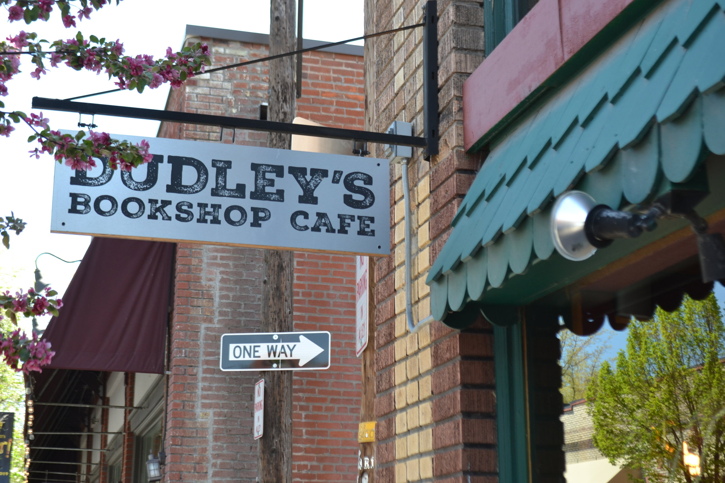 Dudley's Bookshop Cafe - 135 NW Minnesota Ave., Bend, OROfficial BYOC Bend Supporting Business since May 2019Dudley's Bookshop Cafe was the first bookstore in the nation to donate 1% of their profit to local environmental nonprofits through the 1% for the Planet movement. Support Dudley's environmental efforts further and experience their cozy bookshop by bringing in your own cup for a double-shot classic espresso drink (warm or iced), chai tea or even a beer or wine.