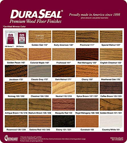 Dura Seal Stain colors