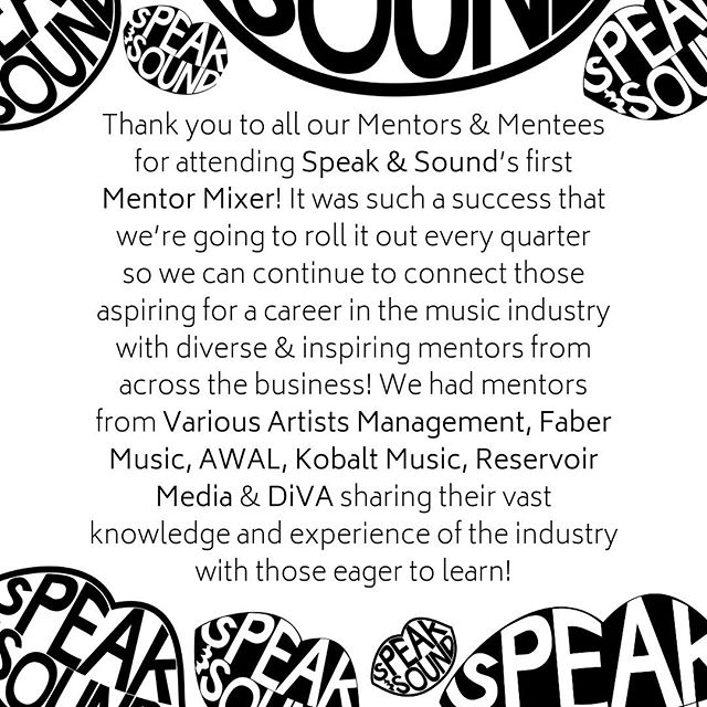 Thank you!! 🙌🙌 Keep your eyes peeled for our next date and invite your friends!! . . . #musicindustry #musicbusiness  #diversity #educate #engage #empower #projectEEE #speakandsound #ukmusic #workplacediversity #education #musicproducer #talent #independent #unsigned #career #careergoals #recordlabel #musicmanagement #artist #artistdevelopment #musicpublishers #apprenticeship #trainee #mentor #mentee