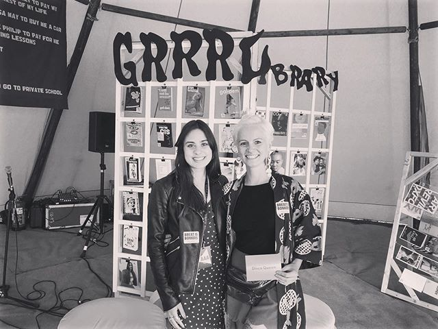Our founder @kayleighelizabethramchand chatting with @pertlapertla from @womb2london about combatting underrepresentation in the music industry and creating a more inclusive culture for all! Thanks @luwilliamsdotcom & @grrrlzinefair for curating such an inspiring space at @villagegreenfes 🙌 . . . #musicindustry #musicbusiness  #diversity #educate #engage #empower #projectEEE #speakandsound #ukmusic #workplacediversity #education #musicproducer #talent #independent #unsigned #career #careergoals #recordlabel #musicmanagement #artist #artistdevelopment #musicpublishers #apprenticeship #trainee #mentor #mentee