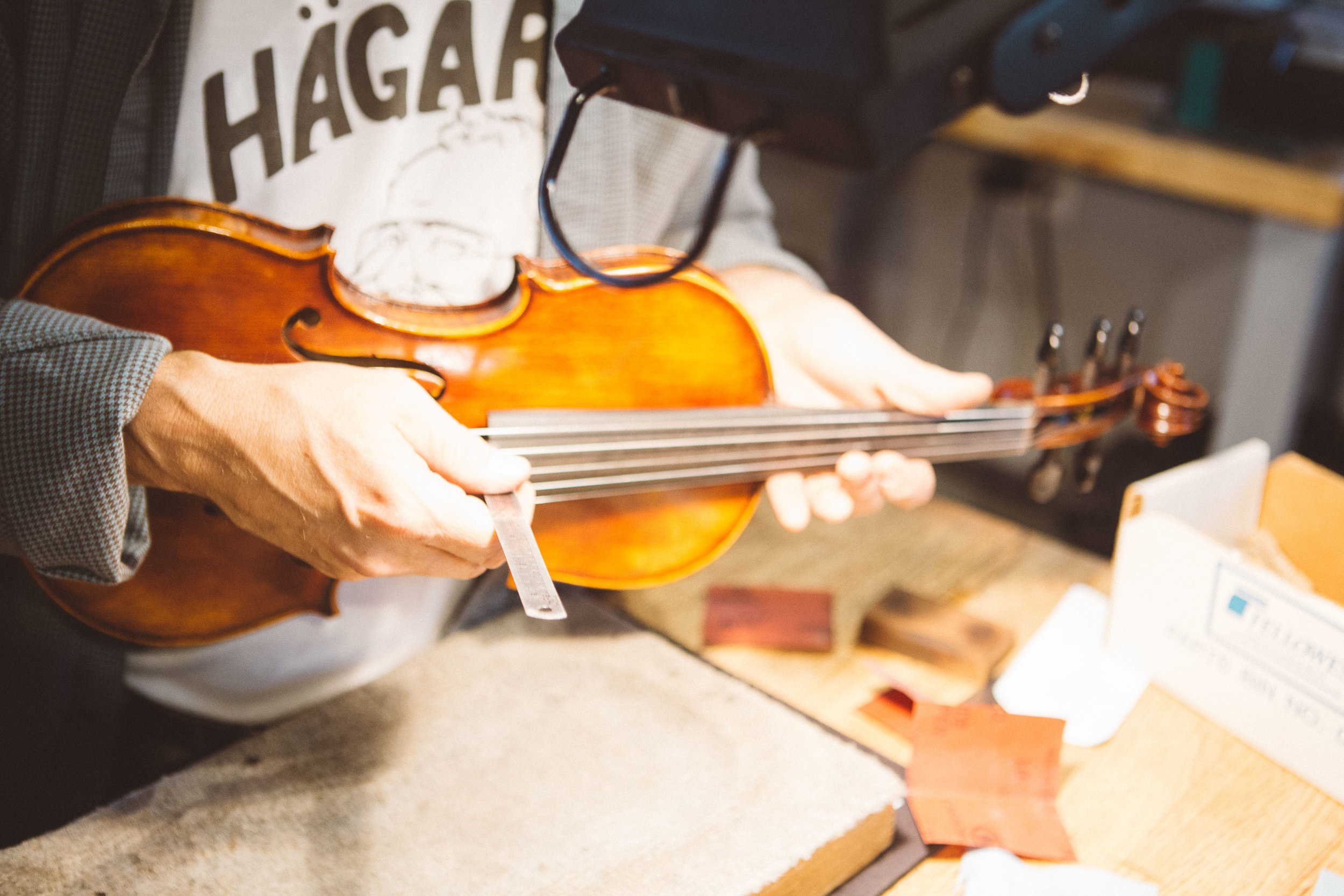 The Violin Shop Repair Nashville