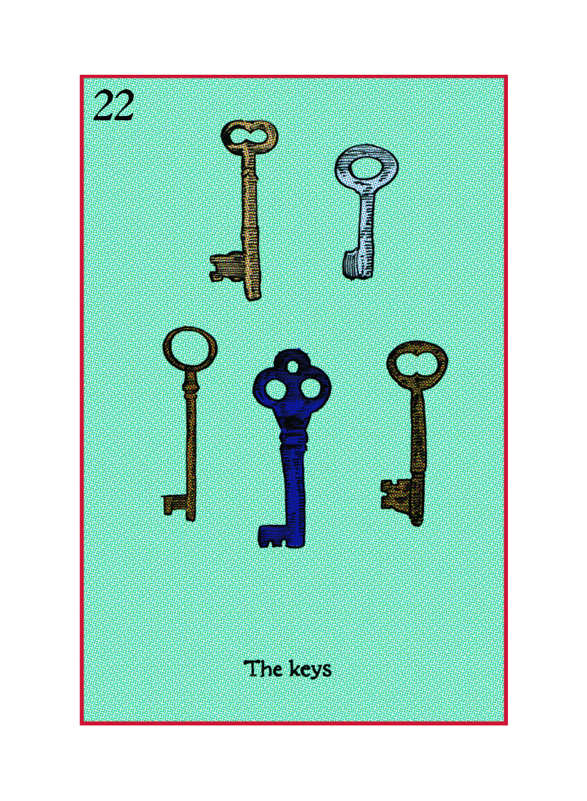 A collection of them! Which unlocks  The trunk, the door, or deposit box?