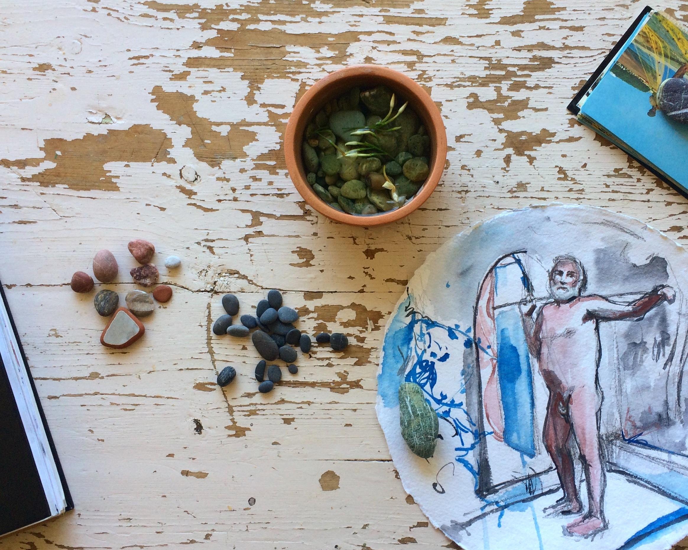 Detail: stones/Antonis, 2015