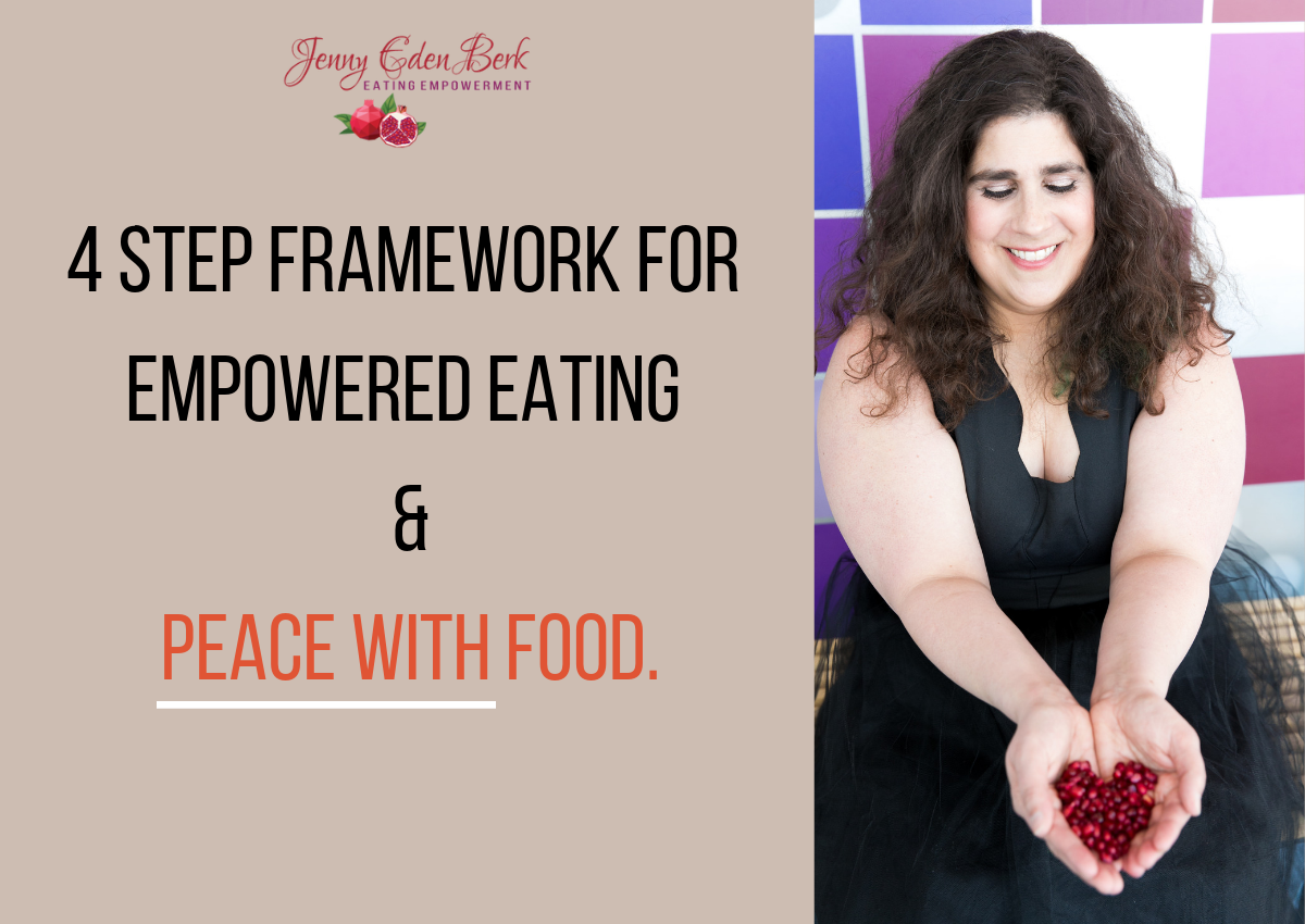 Here's what you'll Learn:   The 3 Mistakes that EVERYBODY makes when it comes to changing their eating habits    The SECRETS to transforming your relationship with food    My 4 Step Framework for complete food freedom and eating empowerment
