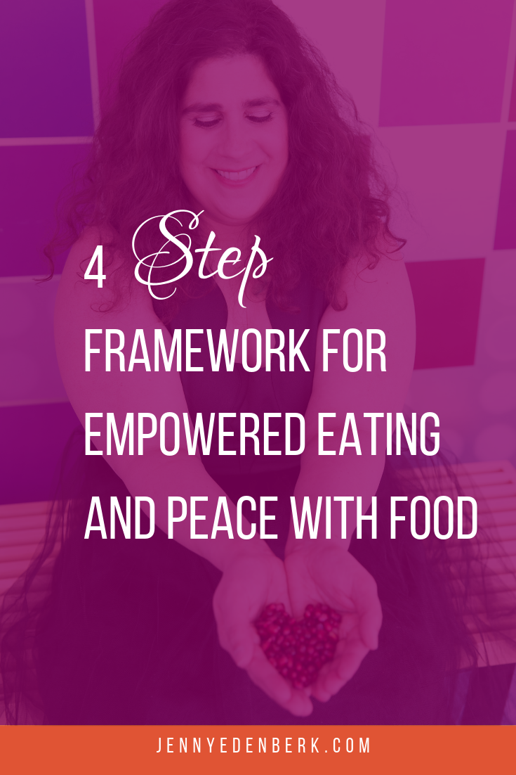 4 steps to stop binge eating