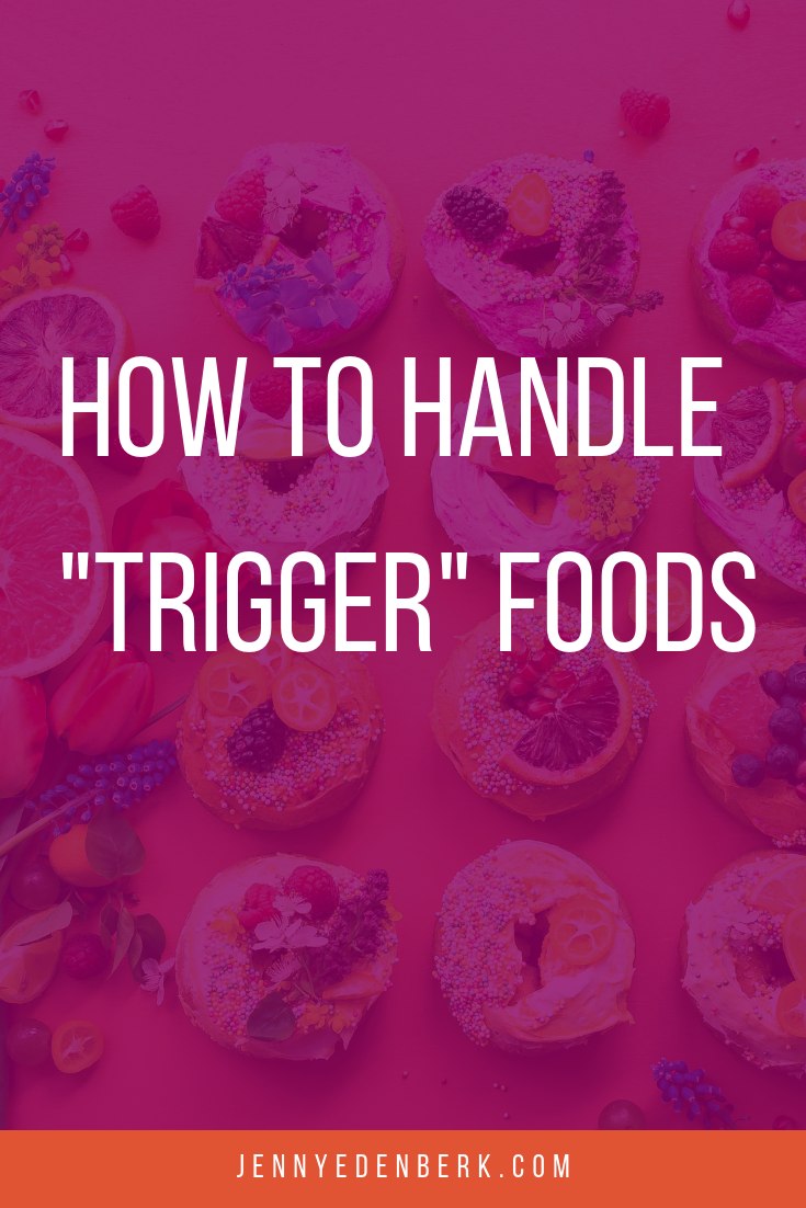 How to handle trigger foods