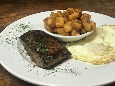 Steak & Eggs -