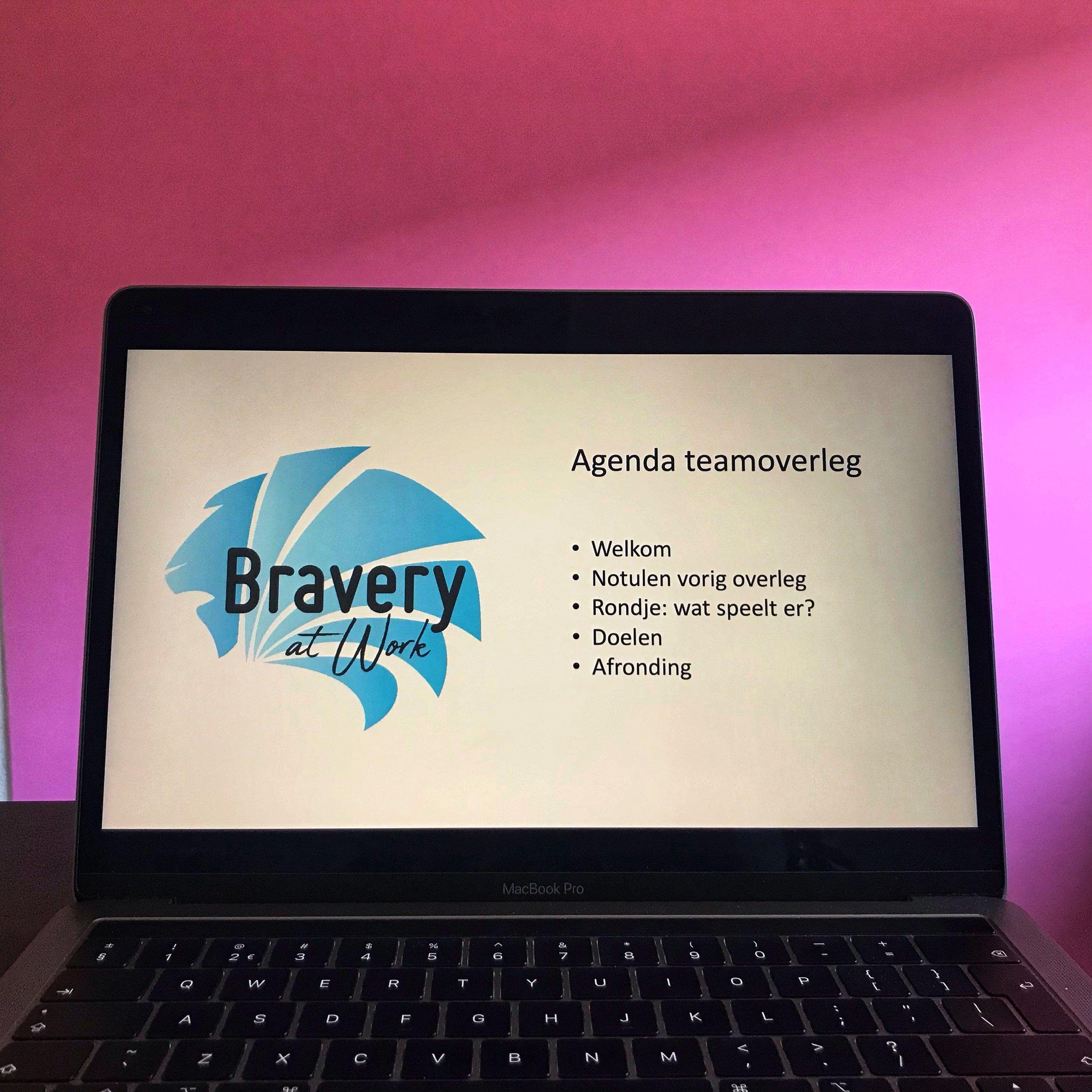Bravery at work, effectief communiceren