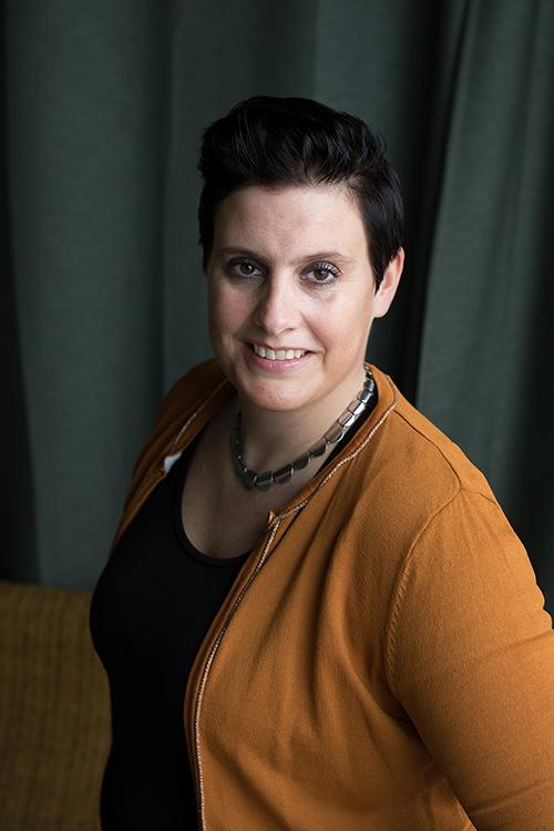 Bravery at work, Astrid van der Laan.