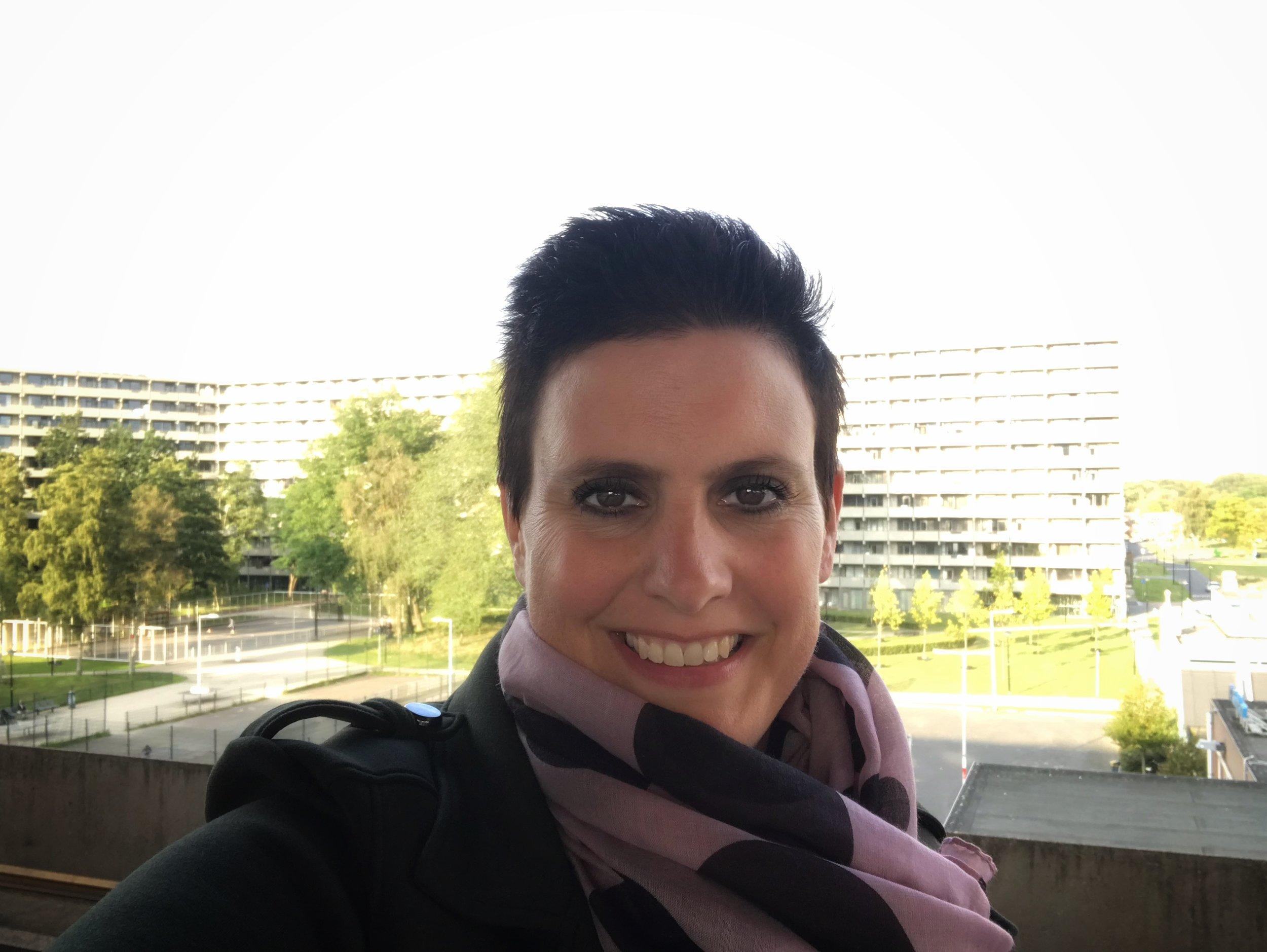 Astrid van der Laan, op weg naar de toekomst