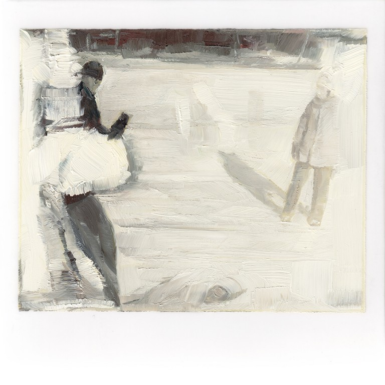 schofield_walking_on_ice_4x4_oil_on_mylar_on_wood.jpg