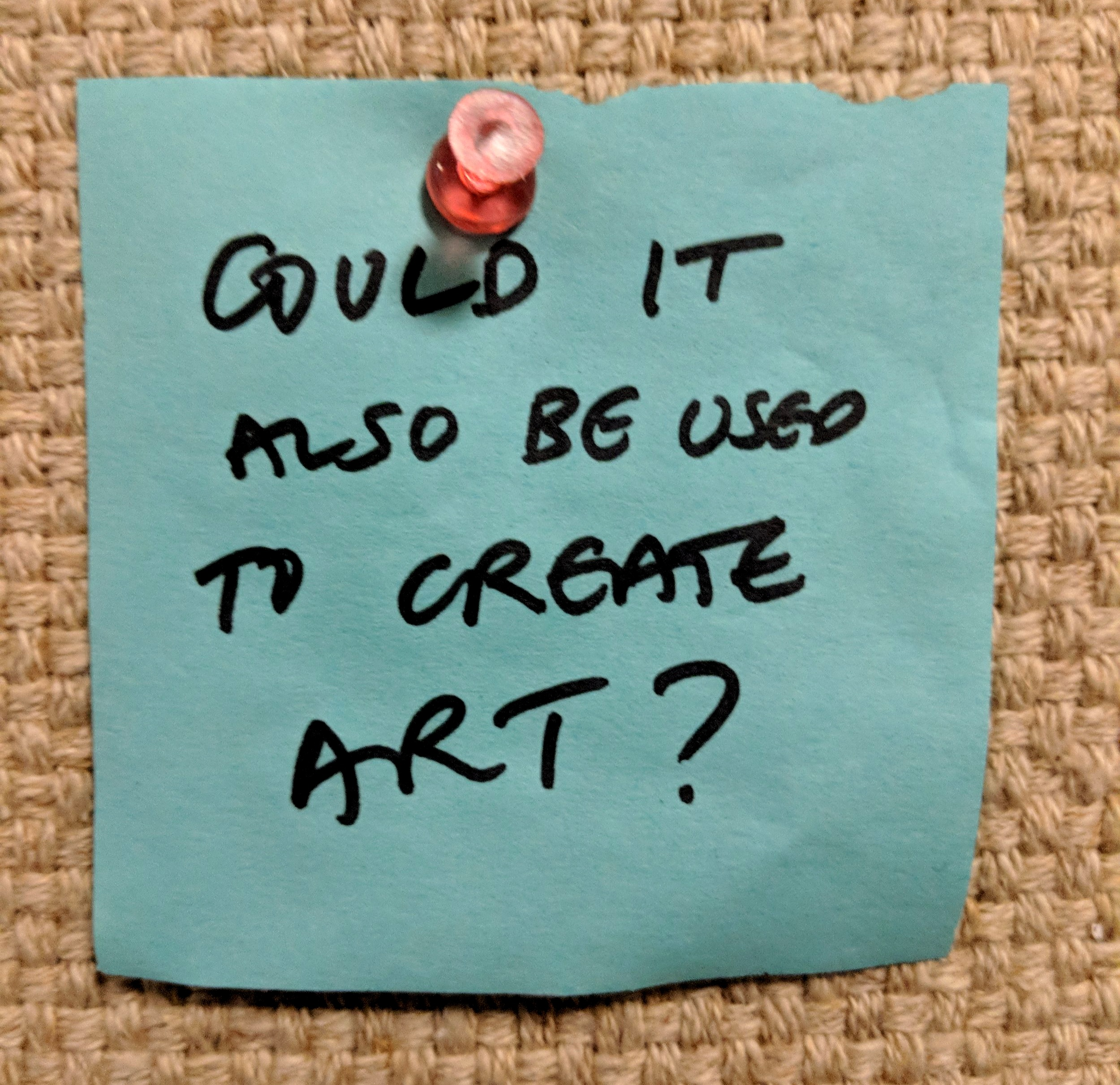 Could it also be used to create art?
