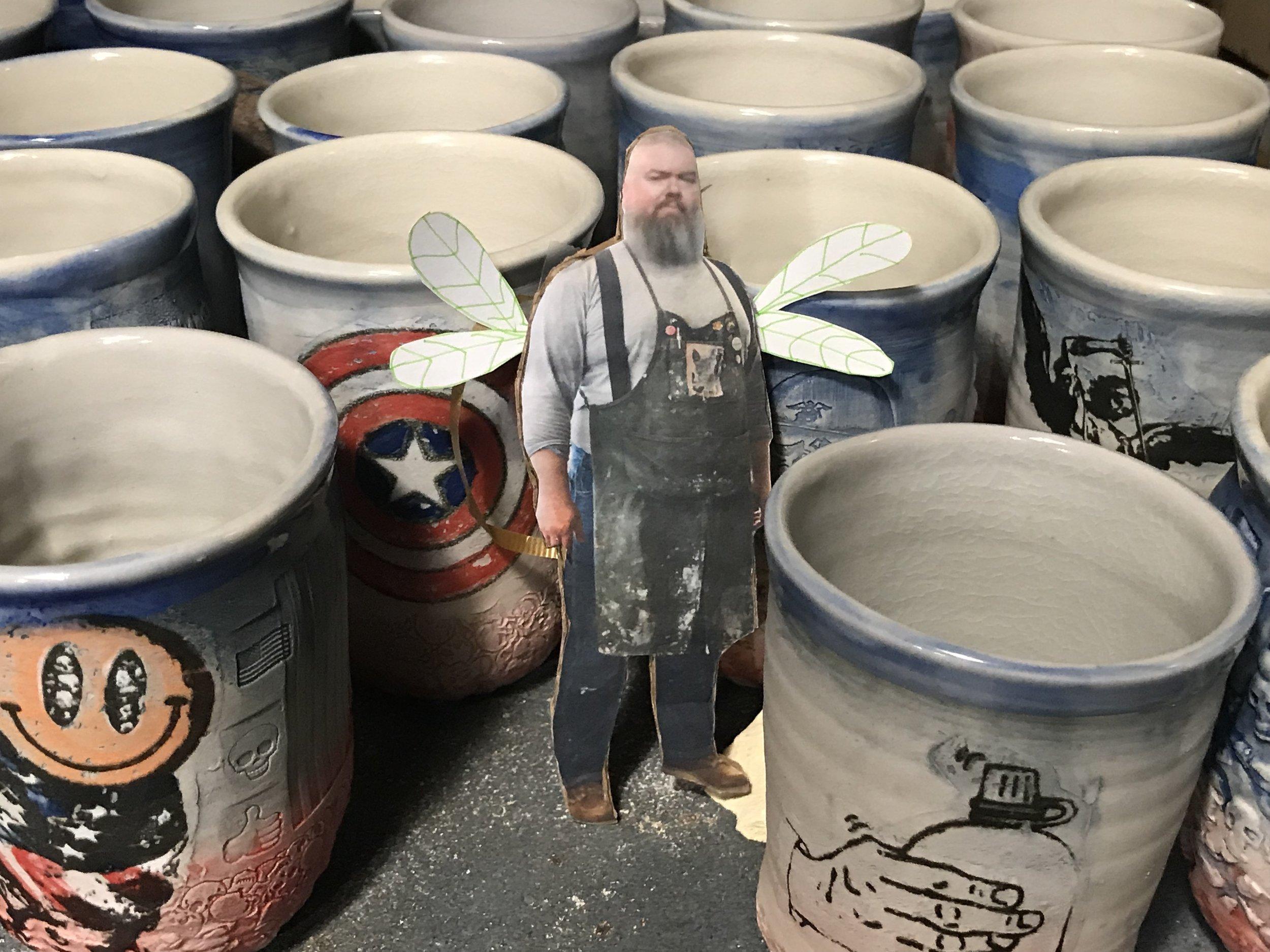 Ehren Tool, Ceramics Studio Technician