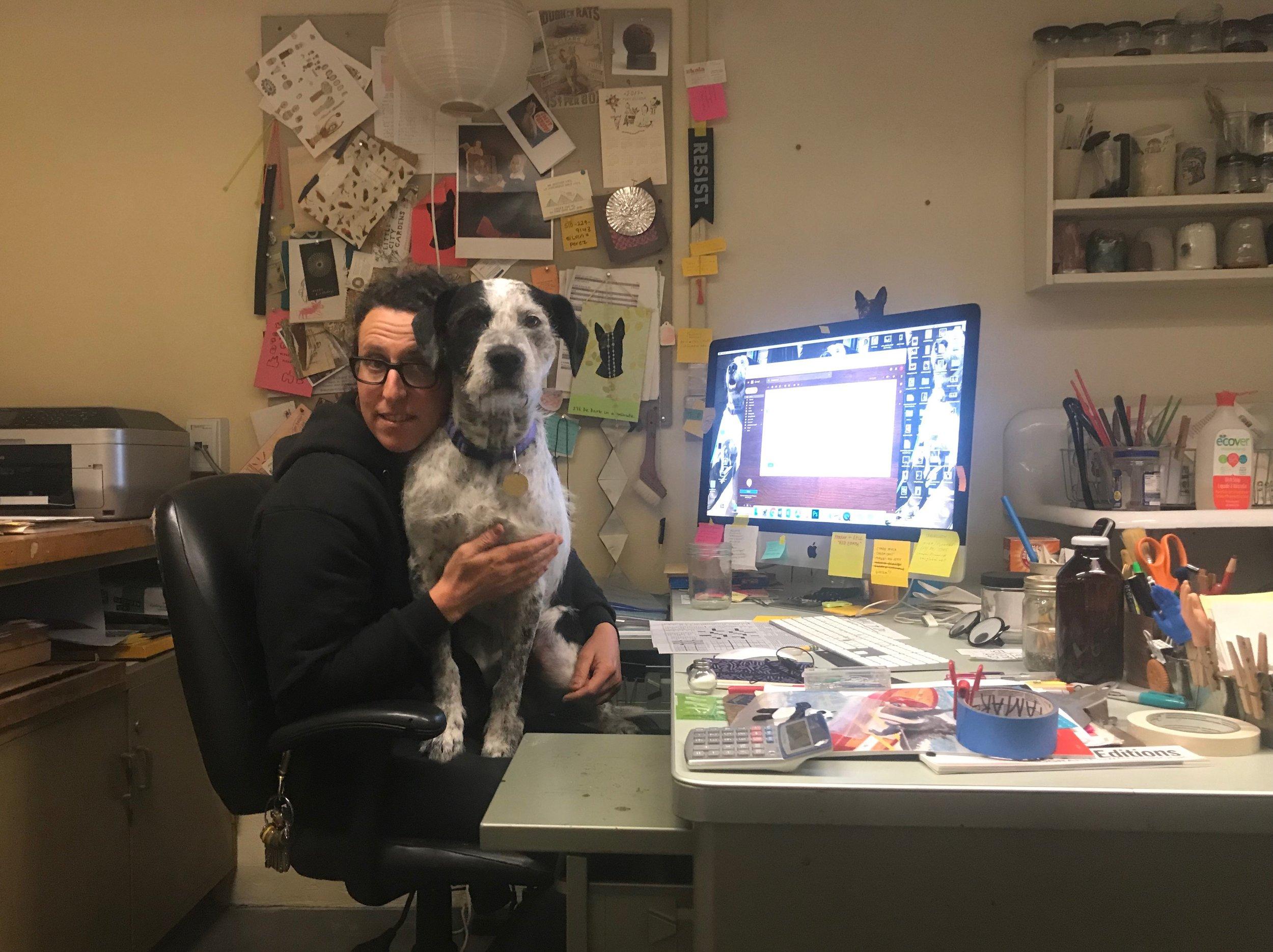 Tamar Beja, Print Studio Technician
