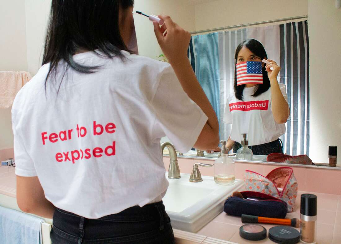 """Pin Wei Kaywee Kuo,  GET OUT OF THE AMERICA!!! , 2019. Photograph, 11"""" x 16""""."""