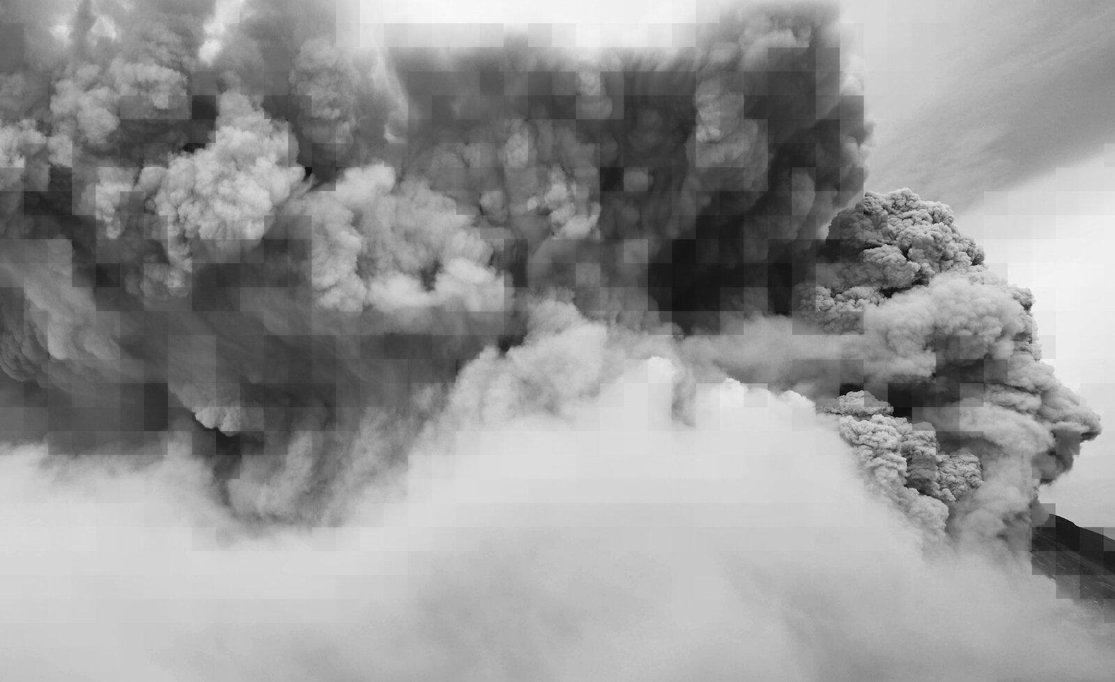 Anahita Hekmat,  les vitres tremblent et le ciel descend,  2019. Video.