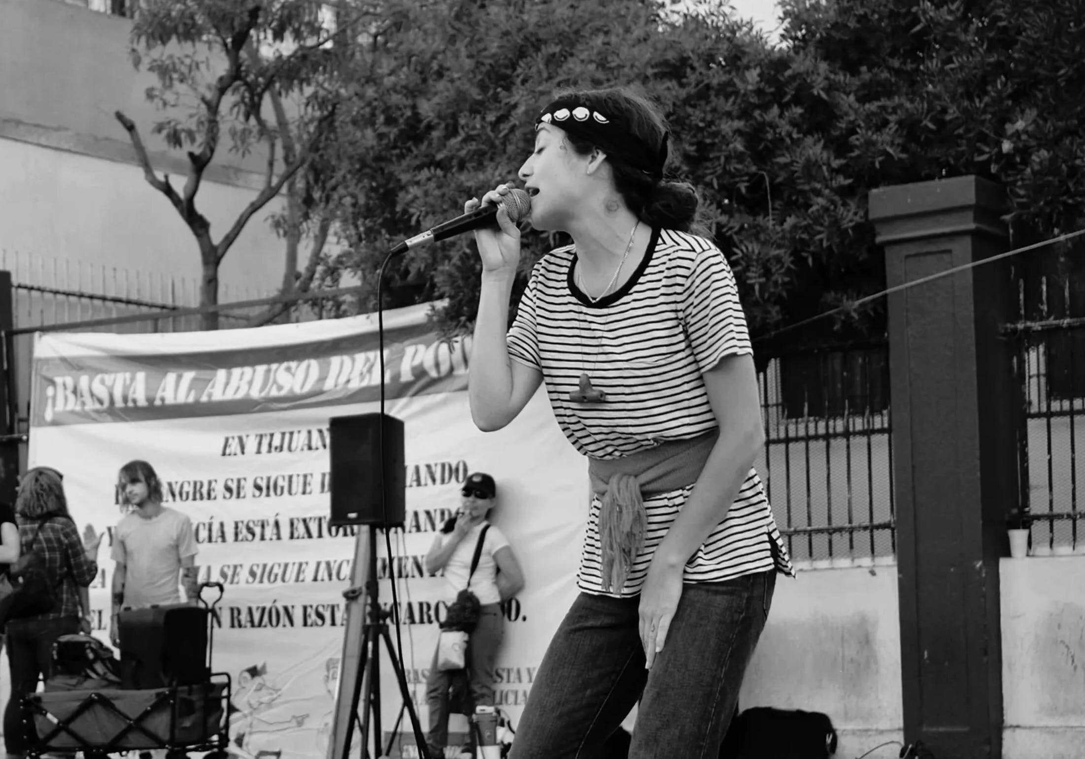 Vreni Michelini-Castillo performing as Chhoti Ma