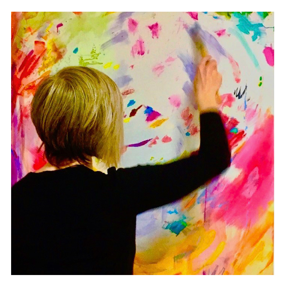 michelle lacroix the artist painting abstract impressionist art