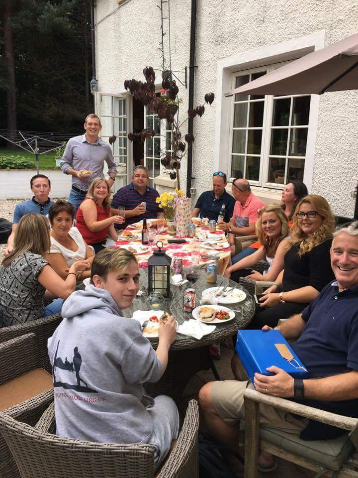 Meanwhile across the pond… - … another group of Camp alumni and staff got together for a reunion in Edinburgh, Scotland.