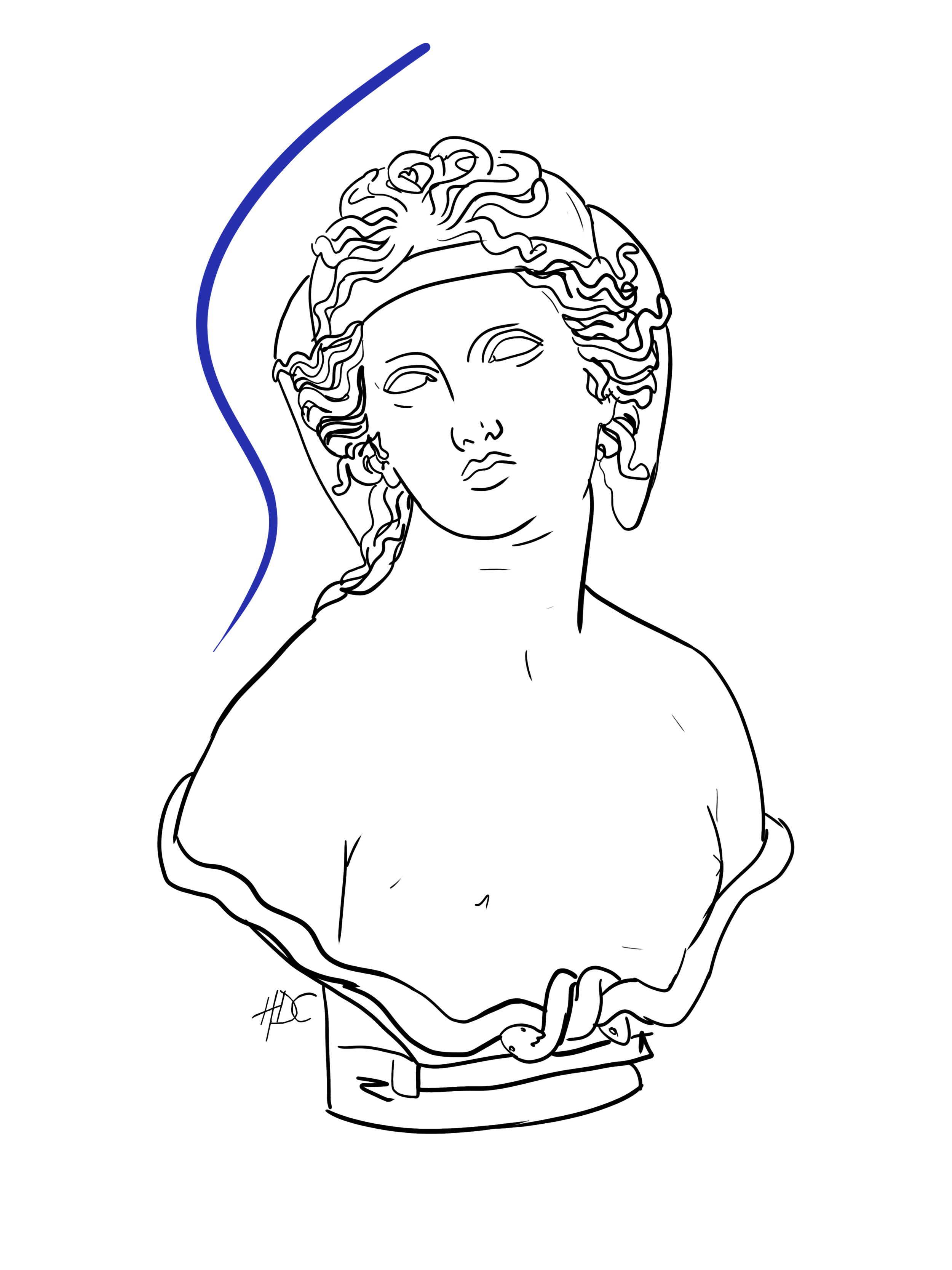 Medusa (Blue)