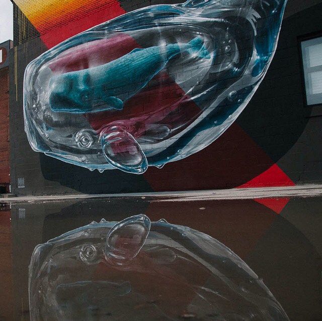 Work by NEVERCREW. Photo courtesy of @walltherapy.