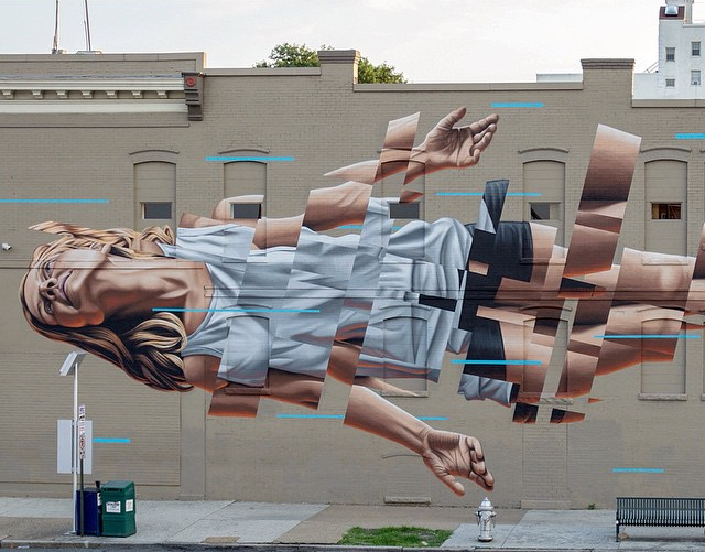 Work by James Bullough. Image courtesy of @jamesbullough.