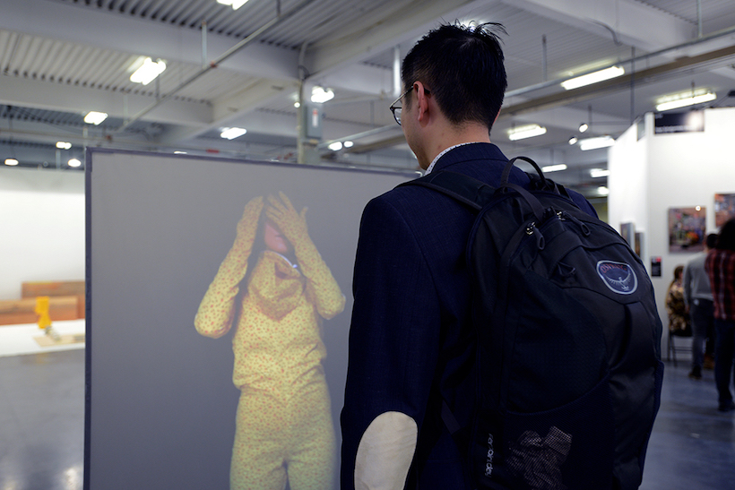 Marianne Burlew, Double Flesh, video-installation, 2018