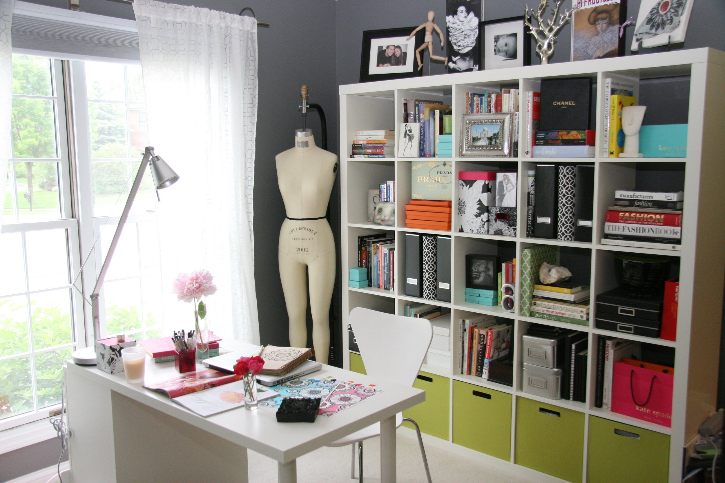 Andie Hanna's Studio. Image courtesy of the artist.