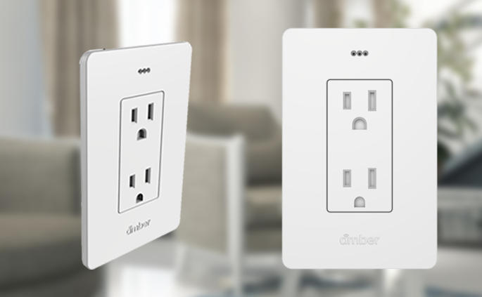 Amber Smart Outlets - Amber's smart outlet's combine safety with intelligence unlike anything available. Through a combination of power metering and safety features, like over-amperage and harmful gas sensing, it will give you insight over your appliance, while keeping you safe.
