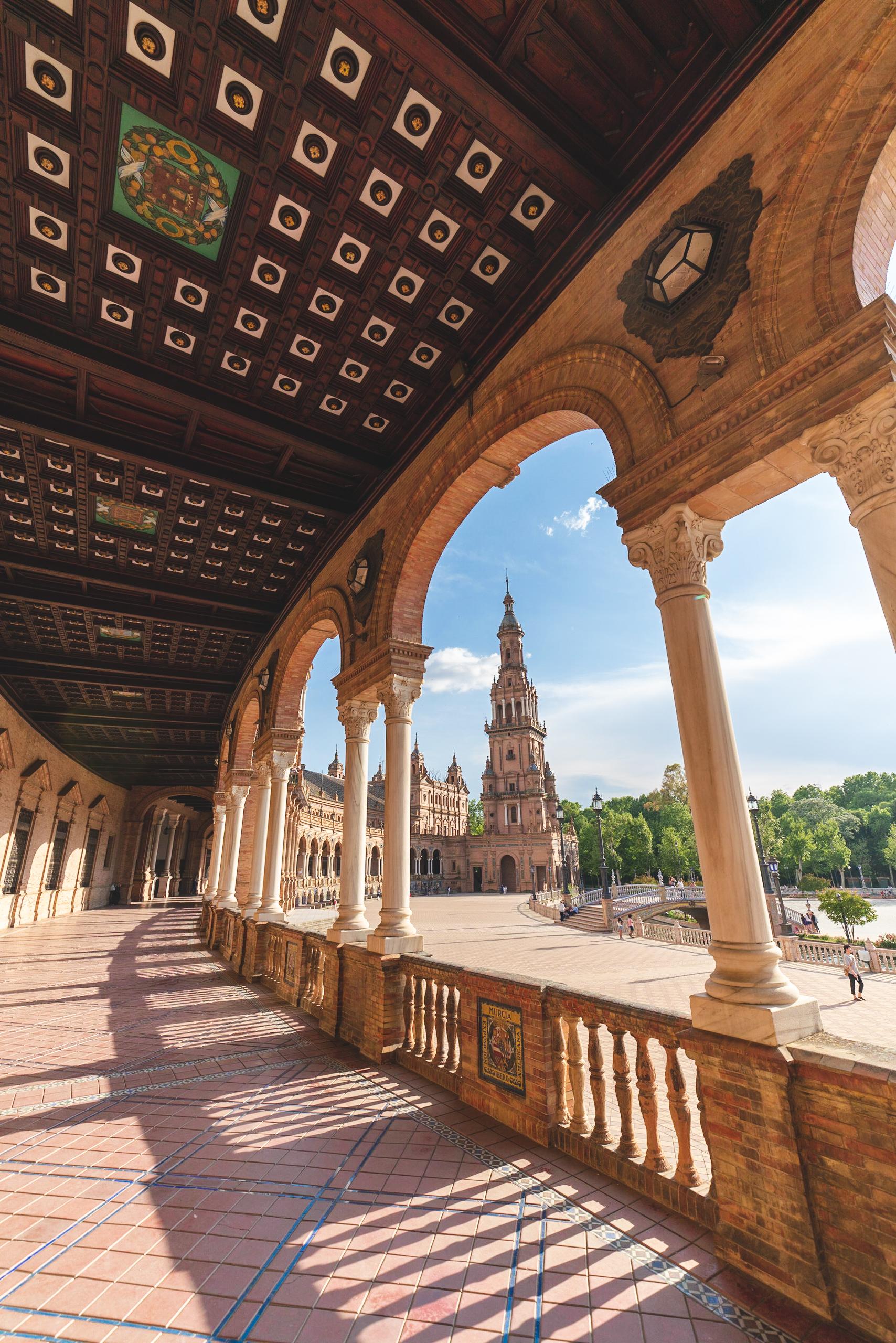The Plaza de España, Sevilla Spain