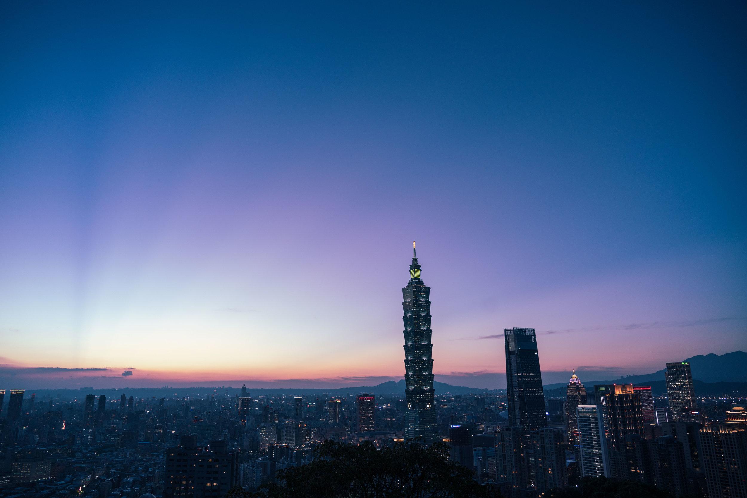 Downtown Taipei, Taiwan