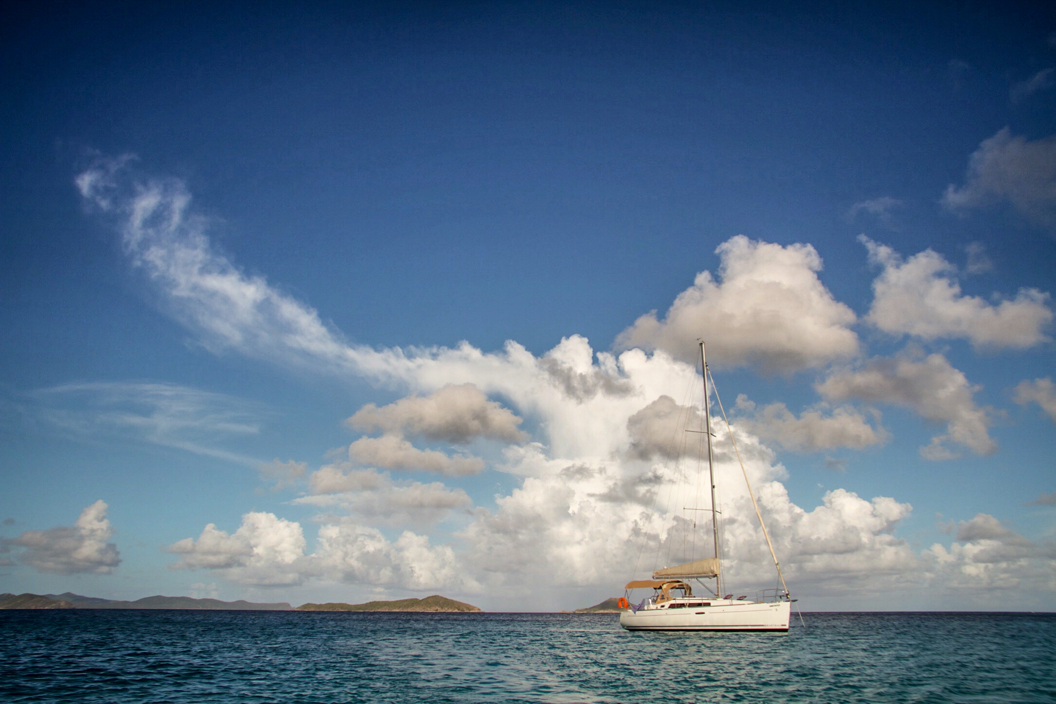 Sailing the British Virgin Islands -