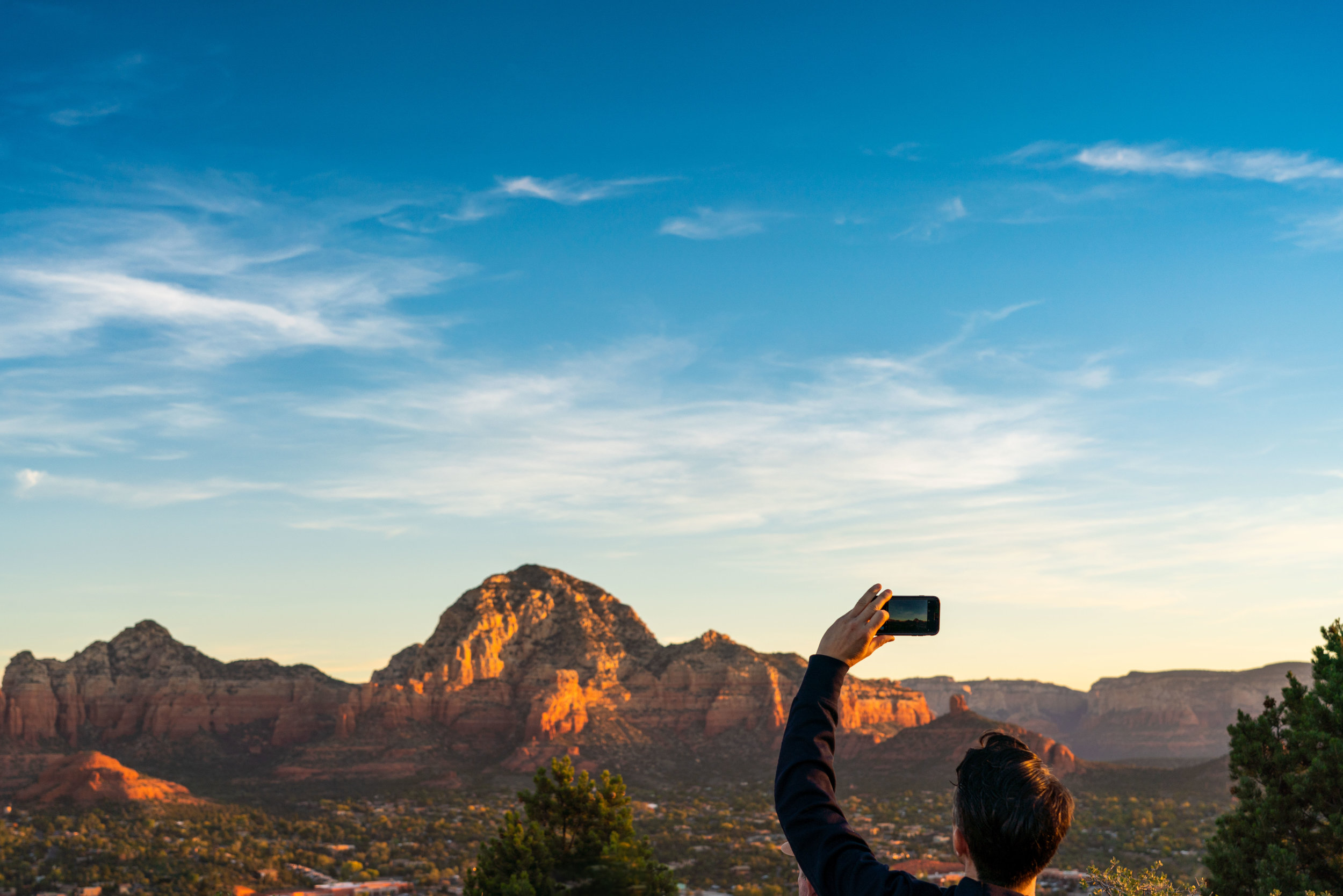 Pictures of people taking pictures -
