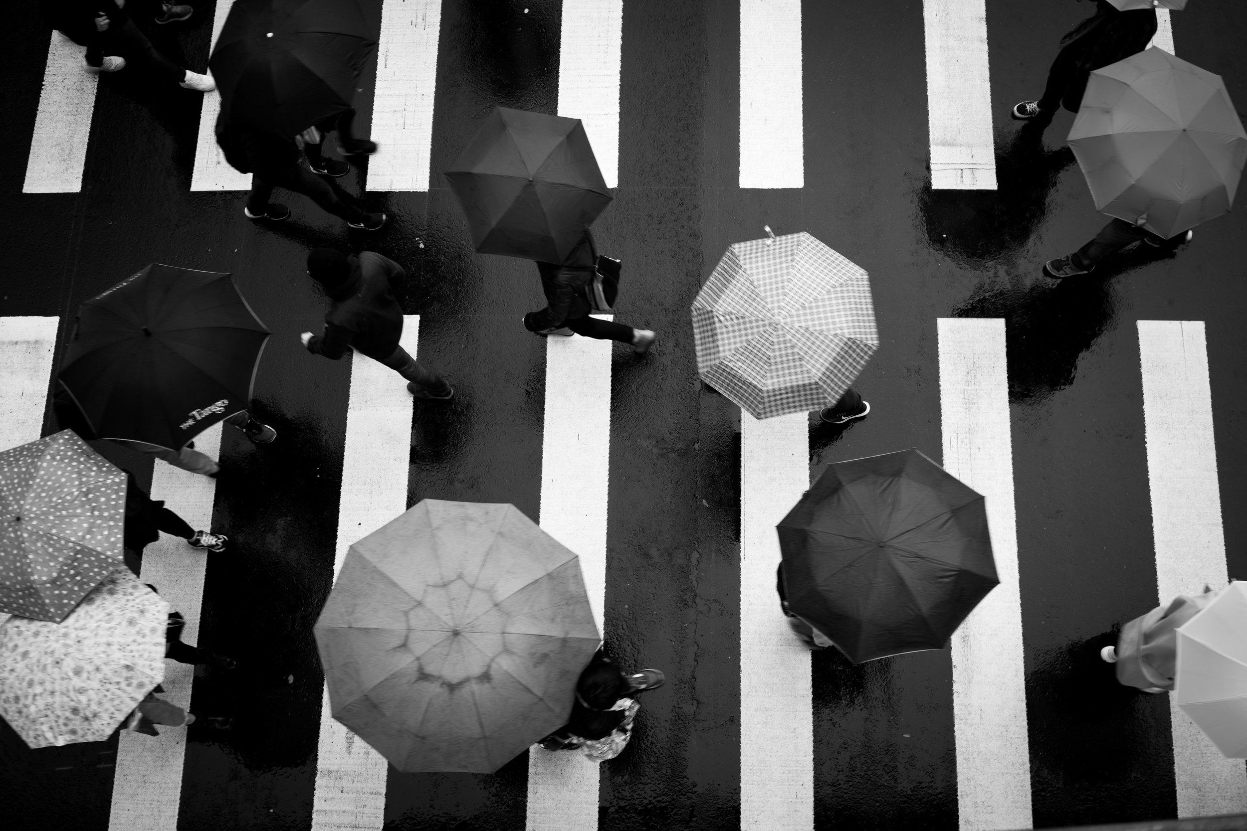 Rainy day, Taipei