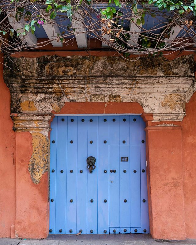 Photo 2 of 3, doors of Cartagena. I loved the colors of this city - vibrant, but also a bit muted.