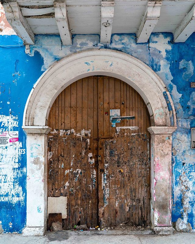 Photo 3 of 3, doors of Cartagena. Even some of the lesser cared-for doors were pretty cool looking.