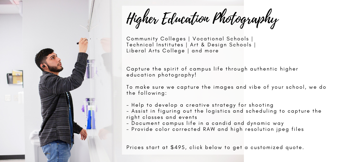 higher education photography dc photographer